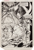 Original Comic Art:Splash Pages, Don Perlin and Kim DeMulder The Defenders #139 Splash Page 2Original Art (Marvel, 1985)....