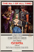 "Movie Posters:Historical Drama, Cleopatra (20th Century Fox, 1963). One Sheet (27"" X 41"") Todd A-OStyle. Historical Drama.. ..."