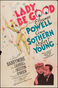 """Movie Posters:Comedy, Lady Be Good (MGM, 1941). One Sheet (27"""" X 41"""") Style D. Comedy....."""