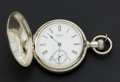 Timepieces:Pocket (post 1900), Waltham Coin Silver Hunter's Case Pocket Watch. ...