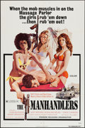 "Movie Posters:Bad Girl, The Manhandlers (Premiere Releasing, 1973). One Sheet (27"" X 41"").Bad Girl.. ..."
