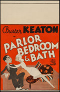 "Movie Posters:Comedy, Parlor, Bedroom And Bath (MGM, 1931). Window Card (14"" X 22"").Comedy.. ..."