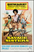 "Movie Posters:Bad Girl, Savage Sisters & Other Lot (American International, 1974). OneSheets (2) (27"" X 41"" & 27.5"" X 41""). Bad Girl.. ... (Total: 2Items)"