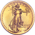 High Relief Double Eagles, 1907 $20 High Relief, Wire Rim MS65+ PCGS Secure. CAC....