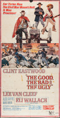 "Movie Posters:Western, The Good, the Bad and the Ugly (United Artists, 1968). Three Sheet (38.25"" X 75""). Western.. ..."