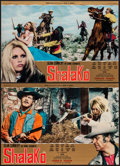 "Movie Posters:Western, Shalako and Others Lot (Cinerama Releasing, 1968). ItalianPhotobustas (5) (26.25"" X 18.25"") & Italian Locandina (13"" X27.5... (Total: 6 Items)"