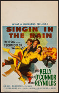 """Movie Posters:Musical, Singin' in the Rain (MGM, 1952). Window Card (14"""" X 22""""). Musical.. ..."""