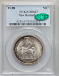 Commemorative Silver, 1938 50C New Rochelle MS67 PCGS. CAC....