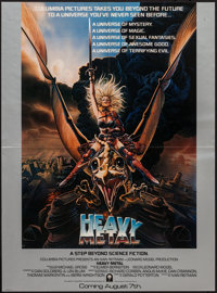 """Heavy Metal (Columbia, 1981). Special Poster (24"""" X 18"""") Advance. Animation"""