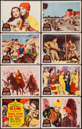 """Movie Posters:Adventure, Kim (MGM, 1950). Lobby Card Set of 8 (11"""" X 14""""). Adventure.. ...(Total: 8 Items)"""