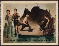 """The Black Pirate (United Artists, 1926). Lobby Card (11"""" X 14""""). Swashbuckler"""