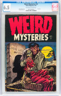 Golden Age (1938-1955):Horror, Weird Mysteries #12 (Gillmor, 1954) CGC FN+ 6.5 Off-white to white pages....