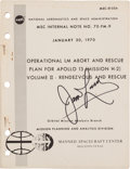 Explorers:Space Exploration, Apollo 13 Training-Used Operational LM Abort and Rescue Plan forApollo 13 (Mission H-2) Volume II - Rendezvous and Resc...