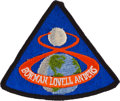 Explorers:Space Exploration, Apollo 8 Flown Embroidered Mission Insignia Patch Directly from the Personal Collection of Mission Command Module Plot James L...