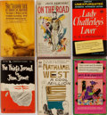 Books:Fiction, [Mass Market Paperbacks]. Group of Six Mostly Fiction Titles. Various publishers, 1960-1965. On the Road is a later prin... (Total: 6 Items)