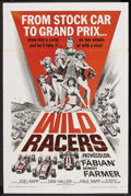 "Movie Posters:Sports, The Wild Racers (American International, 1968). One Sheet (27"" X41""). Sports Drama. ..."