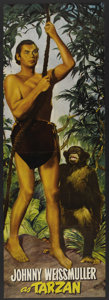 "Movie Posters:Adventure, Tarzan and the Huntress (RKO, 1947). Promotional Fold-Out Poster(21"" X 61.75"". Adventure. ..."