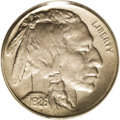 Buffalo Nickels: , 1926-S 5C MS62 PCGS. A mintage of only 970,000 pieces makes the1926-S the scarcest regular issue Buffalo nickel. It is als...