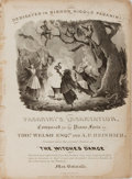 Books:Music & Sheet Music, [Sheet Music]. Thomas Welsh. Paganini's Incantation. Boston:Bradlee, [n.d., ca. 1850's]. Quarto. Approximately 13 x...