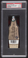 Baseball Collectibles:Tickets, 2010 Stephen Strasburg Minor League Debut Full Ticket PSASlabbed....