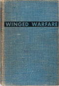 Books:Americana & American History, H. H. Arnold and Ira C. Eaker. INSCRIBED. Winged Warfare.Harper & Brothers, 1941. Second edition. Signed and insc...