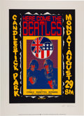 Music Memorabilia:Posters, The Beatles Candlestick Park Concert Limited Edition Signed ArtPrint #225/2500 (Apple/Art Rock, 1992)....