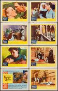 "Movie Posters:Drama, Romeo and Juliet (United Artists, 1954). Lobby Card Set of 8 (11"" X 14""). Drama.. ... (Total: 8 Items)"