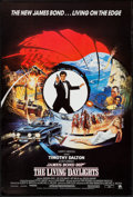 "Movie Posters:James Bond, The Living Daylights (United Artists, 1987). British One Sheet (27"" X 40""). James Bond.. ..."