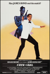 """A View to a Kill (United Artists, 1985). British One Sheet (27"""" X 40""""). James Bond"""
