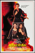 """Movie Posters:James Bond, Licence to Kill (United Artists, 1989). One Sheet (27"""" X 41"""").James Bond.. ..."""