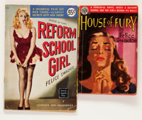 Reform School Girl plus House of Fury Digest Group (Diversey/Avon, 1948-50) Condition: Average VG.... (Total: 2 Items)