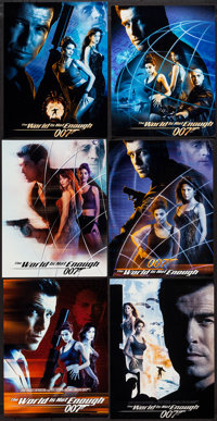 """The World is Not Enough (MGM, 1999). Movie Poster Proofs (18) (11.5"""" x 14.5"""", 11.5"""" x 15"""", 11.5""""..."""