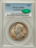 Commemorative Silver: , 1936 50C Lynchburg MS66 PCGS. CAC. PCGS Population (611/72). NGCCensus: (447/96). Mintage: 20,013. Numismedia Wsl. Price f...