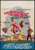 "Movie Posters:Academy Award Winners, The Sound of Music (20th Century Fox, 1965 & R-1966). Belgians(2) (17.75"" X 25"" & 21.5"" X 24"" with 22"" X 11.5"" AttachedDat... (Total: 2 Items)"
