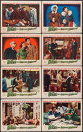 """Movie Posters:Science Fiction, The Beast from 20,000 Fathoms (Warner Brothers, 1953). AutographedLobby Card Set of 8 (11"""" X 14""""). Science Fiction.. ... (Total: 8Items)"""