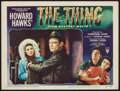 """Movie Posters:Science Fiction, The Thing from Another World (RKO, 1951). Lobby Card (11"""" X 14"""").Science Fiction.. ..."""