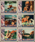"""Movie Posters:Science Fiction, War of the Colossal Beast (American International, 1958). LobbyCards (6) (11"""" X 14""""). Science Fiction.. ... (Total: 6 Items)"""