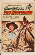 "Movie Posters:Western, The Westerner (United Artists, 1940). One Sheet (27"" X 41""). Western.. ..."