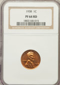 Proof Lincoln Cents: , 1938 1C PR64 Red NGC. NGC Census: (233/382). PCGS Population(608/811). Mintage: 14,734. Numismedia Wsl. Price for problem ...