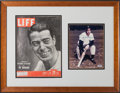 Autographs:Photos, 1990's Joe DiMaggio Signed Photographs Lot of 3....