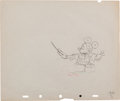 Animation Art:Production Drawing, Magician Mickey Production Drawing Animation Art (Disney,1937)....