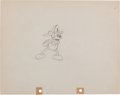 Animation Art:Production Drawing, Mickey's Fire Brigade Animation Production Drawing OriginalArt Group (Disney, 1935)....
