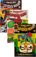 Silver Age (1956-1969):Superhero, The Amazing Spider-Man Group (Marvel, 1966-69) Condition: Average VG-.... (Total: 28 Comic Books)