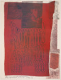 Prints:Contemporary, ROBERT RAUSCHENBERG (American, 1925-2008). More distant visiblepart of the sea, 1979. Silkscreen in colors and collage...