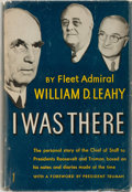 Books:Biography & Memoir, William D. Leahy. INSCRIBED. I Was There. Whittlesey House,1950. First edition, first printing. Signed and in...