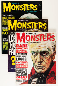Famous Monsters of Filmland Group (Warren, 1960-72) Condition: Average VG-.... (Total: 19 Items)