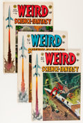 Golden Age (1938-1955):Science Fiction, Weird Science-Fantasy #23-27 Group (EC, 1954-55).... (Total: 5Comic Books)