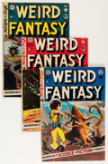 Golden Age (1938-1955):Science Fiction, Weird Fantasy Group (EC, 1951-53) Condition: Average VG-....(Total: 9 Comic Books)