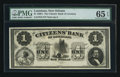 Obsoletes By State:Louisiana, New Orleans, LA- The Citizens' Bank of Louisiana $1 18__. ...