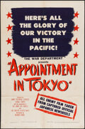 """Movie Posters:War, Appointment in Tokyo (Warner Brothers, 1945). One Sheet (27"""" X41""""). War.. ..."""